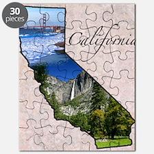 CaliforniaMap28 Puzzle