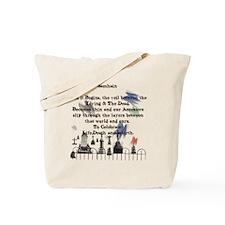 Ghost Among Us3 Tote Bag