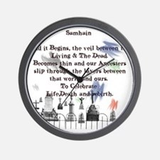 Ghost Among Us3 Wall Clock