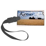 Kansas Luggage Tags