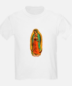 Mary - Virgin of Guadalupe  Kids T-Shirt