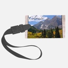 ColoradoMap28 Luggage Tag