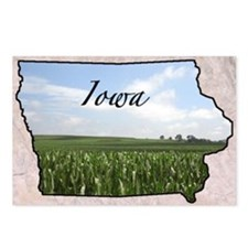 IowaMap28 Postcards (Package of 8)