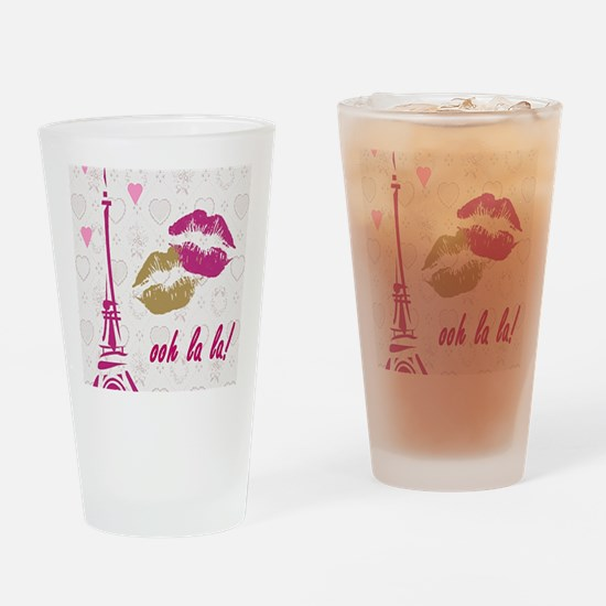 oohlalaprint Drinking Glass