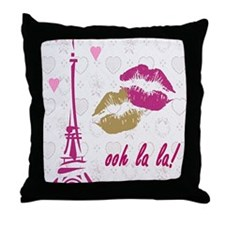oohlalaprint Throw Pillow
