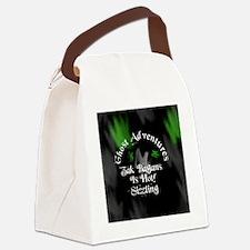 Ghost Adventures Round sticker Canvas Lunch Bag