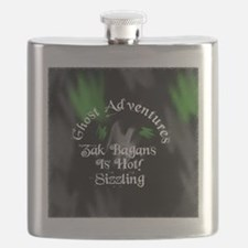 Ghost Adventures Round sticker Flask