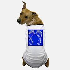 Footprints_enamel Dog T-Shirt