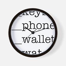 KPhWlWc1 Wall Clock