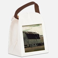 Antique Barn Canvas Lunch Bag