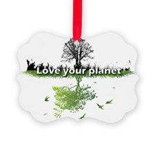 Love your planet Ornament
