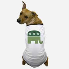 Green Republican Dog T-Shirt