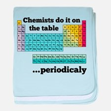 Chemists do it on the table baby blanket