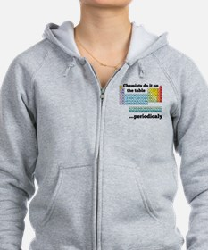 Chemists do it on the table Zip Hoodie