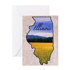 Illinois Greeting Card