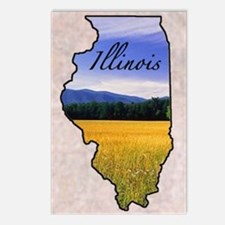 Illinois Postcards (Package of 8)