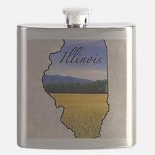 Illinois Flask
