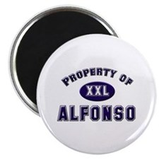 Property of alfonso Magnet