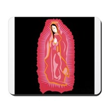Our Lady of Guadalupe - Rose Mousepad