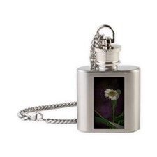 One Daisy Flask Necklace