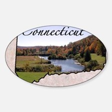 ConnecticutMap28 Decal