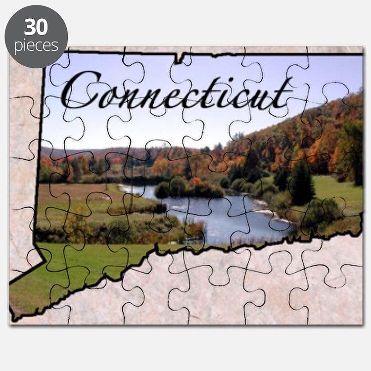 ConnecticutMap28 Puzzle