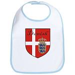Danish Flag Crest Shield Bib