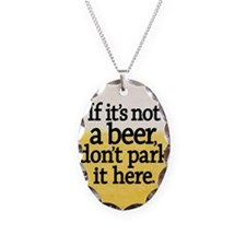 Funny Beer Coaster Necklace