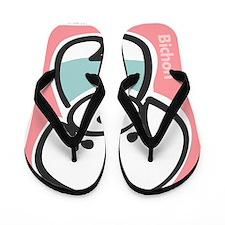 bichon Flip Flops