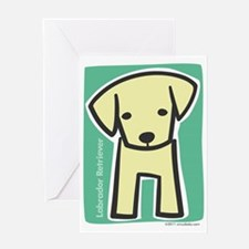 labrador_retriever Greeting Card