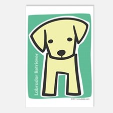 labrador_retriever Postcards (Package of 8)
