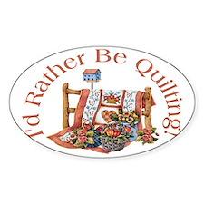quiltlap Bumper Stickers