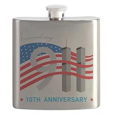 911_10thAnni01 Flask