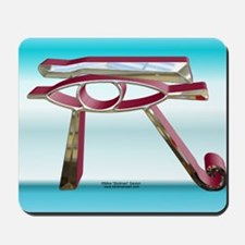 3d Eye of Horus Mouse Pad