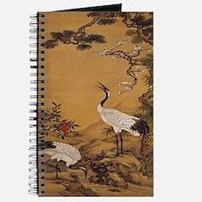 cranes-woodblock-print-iPad-case Journal