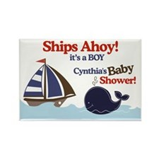 Cynthias Baby Shower Yard Sign Rectangle Magnet