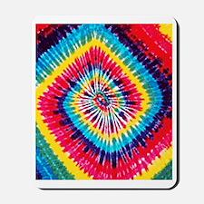 Tie-Dye Square FF Mousepad