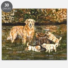 golden family Puzzle