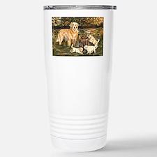 golden family Travel Mug