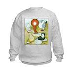 Pigeon Color Book Kids Sweatshirt