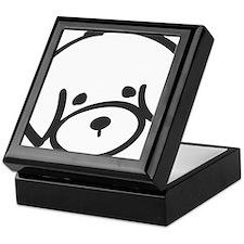 bichon face Keepsake Box