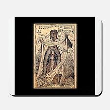 Virgen de Guadalupe - Posada Woodcut Mousepad