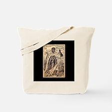 Virgen de Guadalupe - Posada Woodcut Tote Bag