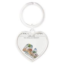 fol tshirt cafe3 Heart Keychain