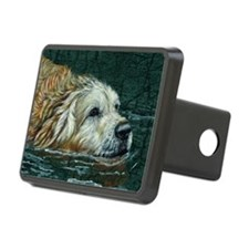golden old swimmer Hitch Cover