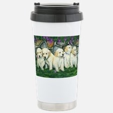 golden puppies Travel Mug