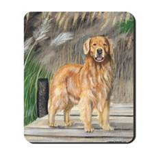 Golden dock Mousepad