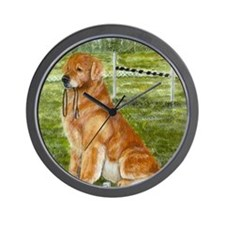 golden obedience Wall Clock