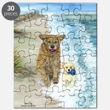 Golden Surf runners Puzzle