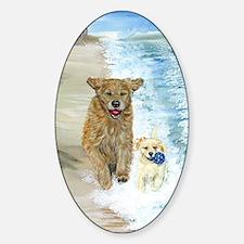 Golden Surf runners Decal